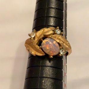 Vintage Avon Opal Ring Size 7